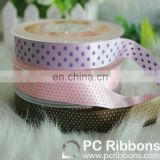 Custom polyester ribbon satin silk ribbon