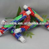 Aluminum Collapsible Food Chocolate Packaging Tube