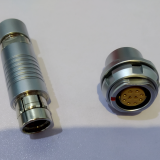 Push-pull self-latching F series S1031C. connectors (plug and socket) 10pin