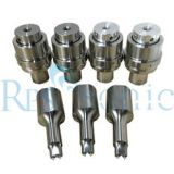 Rinco replaced ultrasonic welding horn Staking Horn for ABS and Acrylic welding