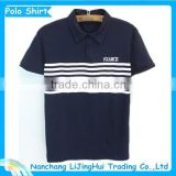 Best price polo collar polo shirt stock lot