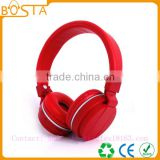 Popular colorful new sport stereo promotional bluetooth headsets with CSR V4.0 chipset