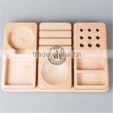 Rectangular Wooden Plate for restaurant,Handmade Natural Wooden plate
