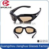 Fashionable custom skull shot safety glasses military night vision safety goggles for set