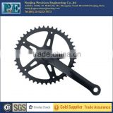 High precision bicycle chainwheel and crank for bicycle parts
