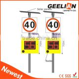 Top Quality Radar Speed Limit Solar Powered Traffic Sign                                                                         Quality Choice