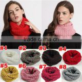 Best Selling Hollowed-out Circle Knitting Lady Winter Scarf