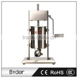 3L Stainless Steel Vertical Manual Single Speed Sausage Stuffer Filling Making Machine
