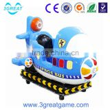 High quality attractive space bus coin operated theme park kiddie ride