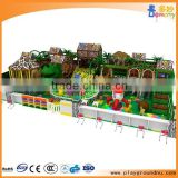 Jungle theme children indoor soft play areas playground equipment,kids play system structure for games