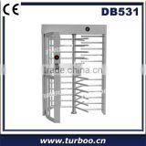 Latest high grade quality high security rotary durable 304 stainless steel full height turnstile gate with access control