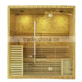 Manufacturer wholesale luxury sauna cabin,sauna equipment,finland traditional steam sauna room,home sauna prices