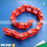 Wholesale ISO standard engineering new colored conveyor belts pom plastic roller chain