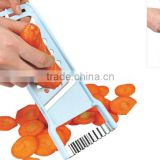 S/S+ABS 23.5*9.5*1.2 Kitchen tools multifunctional slicer/vegetable&fruit slicer/multi chopper