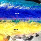 2015 Polular Single Ply Dyed Curly Ostrich Feather Boa In Stock