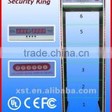 Airport Subway Door Frame Metal Detector, Body Scanner Metal Detector For Security Check