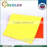 fluorescent PVC coated polyester reflective fabric for rain coat safety vest warning triangle