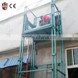 2t hydraulic pallet lifter/cargo lift
