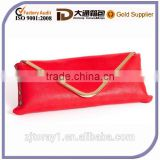 Wholesale PU Leather Women Lady Envelope Bag Clutch Purse With Gold Hardware