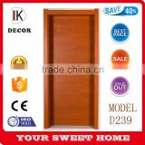 2016 high quality walnut used solid wood flush door price                                                                                                         Supplier's Choice