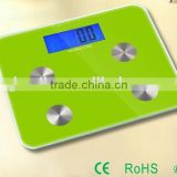 Electronic Digital Body Fat Scale with back light LCD