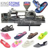 PVC air blowing machine for making PVC slipper sandal and shoes