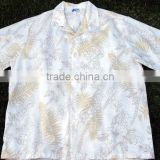 high quality cotton match design hawaiian shirt
