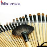 Wooden handle eco-friendly Professional makeup brush set