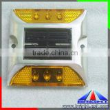 small battery operated led Solar panel stud lights, led road stud light, led traffic road cat eyes solar light