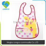Customized factory price plastic baby bibs