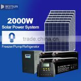 Bestsun CE TUV standard anti dumping free poly 250w Pv Module 24Vsolar panel with lower price 2kw portable solar system