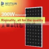 300w Monocrystalline Small Power Mini Solar Panel for Toys, LED lights and charger with