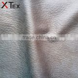 camel and white mixed rexine leather fabric for home textile, fabric color combinations for sofa set wholesale