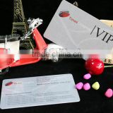 Guangzhou Hot Sell Metalic Silver VIP Card
