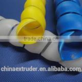 Cable Winding Pipe hydraulic Spiral Sheath Wrap tube Protector Production Line Equipment