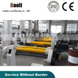 single face machine corrugated mill roll stand machine and electric without axle shelf hot sale