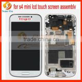 LCD Touch Screen Glass Display+ Digitizer for Samsung Galaxy S4 Mini i9195 Black original