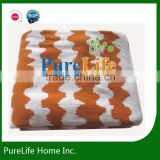 SZPLH 100% cotton baby knitted blanket and swaddles