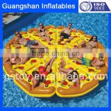 Water lounge inflatable Pizza float mattress                                                                         Quality Choice