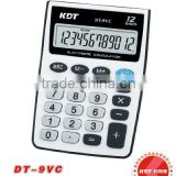 12 digits mini credit card size gift calculator DT-9VC
