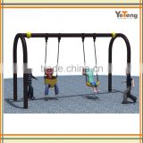 Outdoor Play Galvanized Steel Swing Set