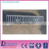 EN1433 Drain polymer concrete channel with iron grating