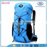 large one compartment external frame backpack