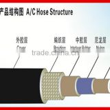 High pressure anti-corrosion low temperature resistant high temperature air conditioning flexible hose