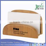 Make stationery box business card holder bamboo card holder