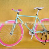 700C colorful fixie fixed bike form TAIWAN Fixed Gear Bikes factory to wholesale blue fixed gear bike