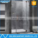 OEM Modern Design Portable Frameless Luxury Pivot Hinge Bath Shower Door Screen Price                                                                         Quality Choice