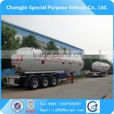 Factory sale new design customized for export Q345R/Q370R 56m3 propane 3 axle semi trailer lpg tank,lpg tanker,lpg tank for sale