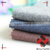 Nylon Polyester blend Herringbone fabric Brushed Imitation Wool Cashmere fabric
