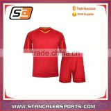 Stan Caleb Hot Sale Wholesale Soccer Uniforms Set / Soccer Jersey Team Uniforms / High Quality Football Uniform